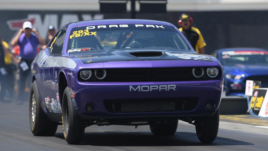 NHRA world champion Pro Stock driver Allen Johnson has made his return to racing this season.