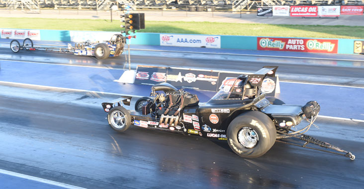 RESULTS FROM NHRA DIV. 4 EVENT FROM TEXAS MOTORPLEX