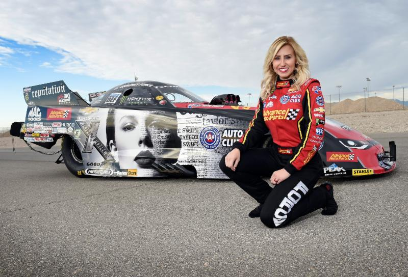 Haters Gonna Hate Courtney Force Funny Car To Feature