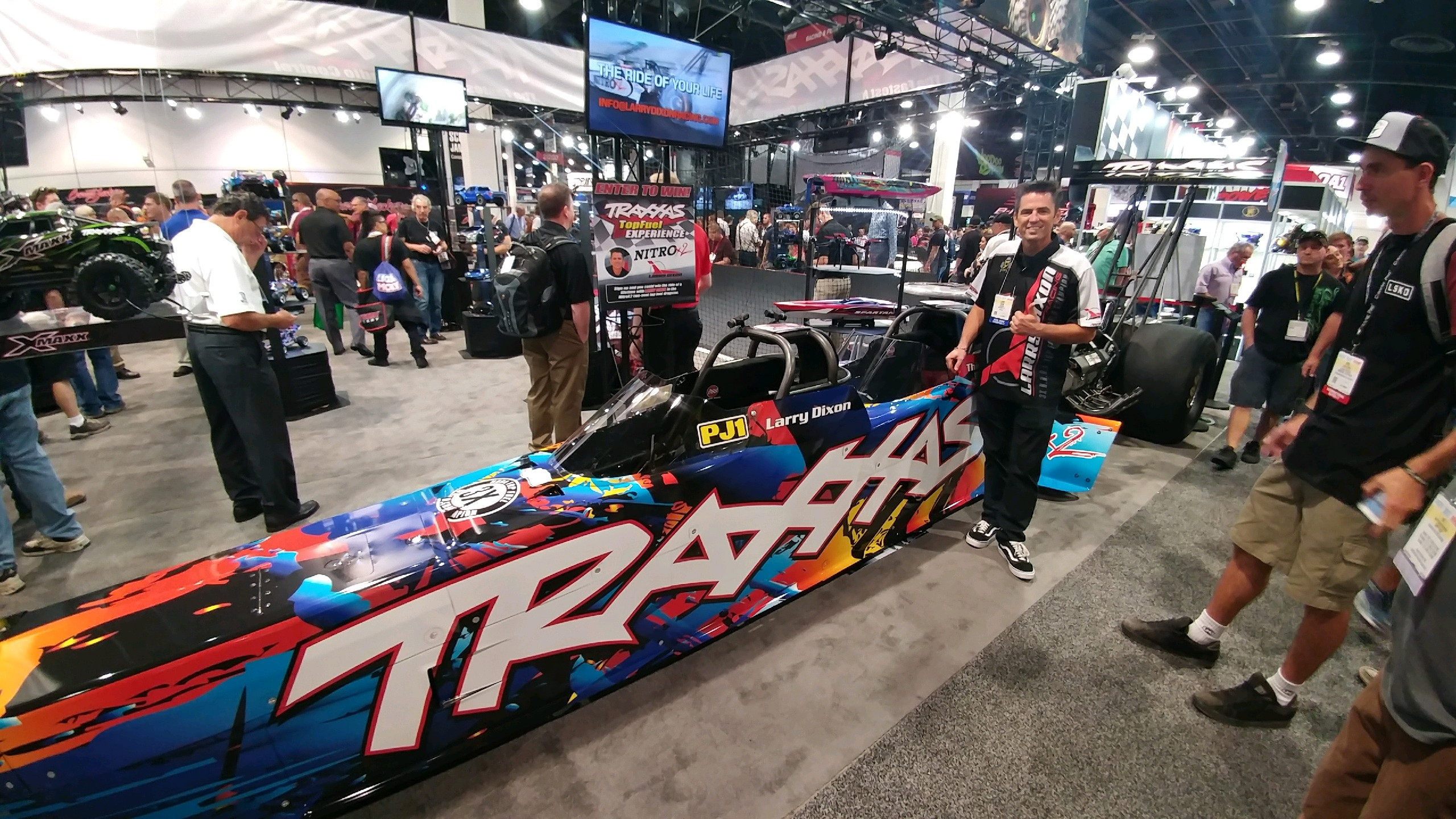 DIXON REVEALS TWO-SEAT TOP FUEL DRAGSTER (WITH VIDEO