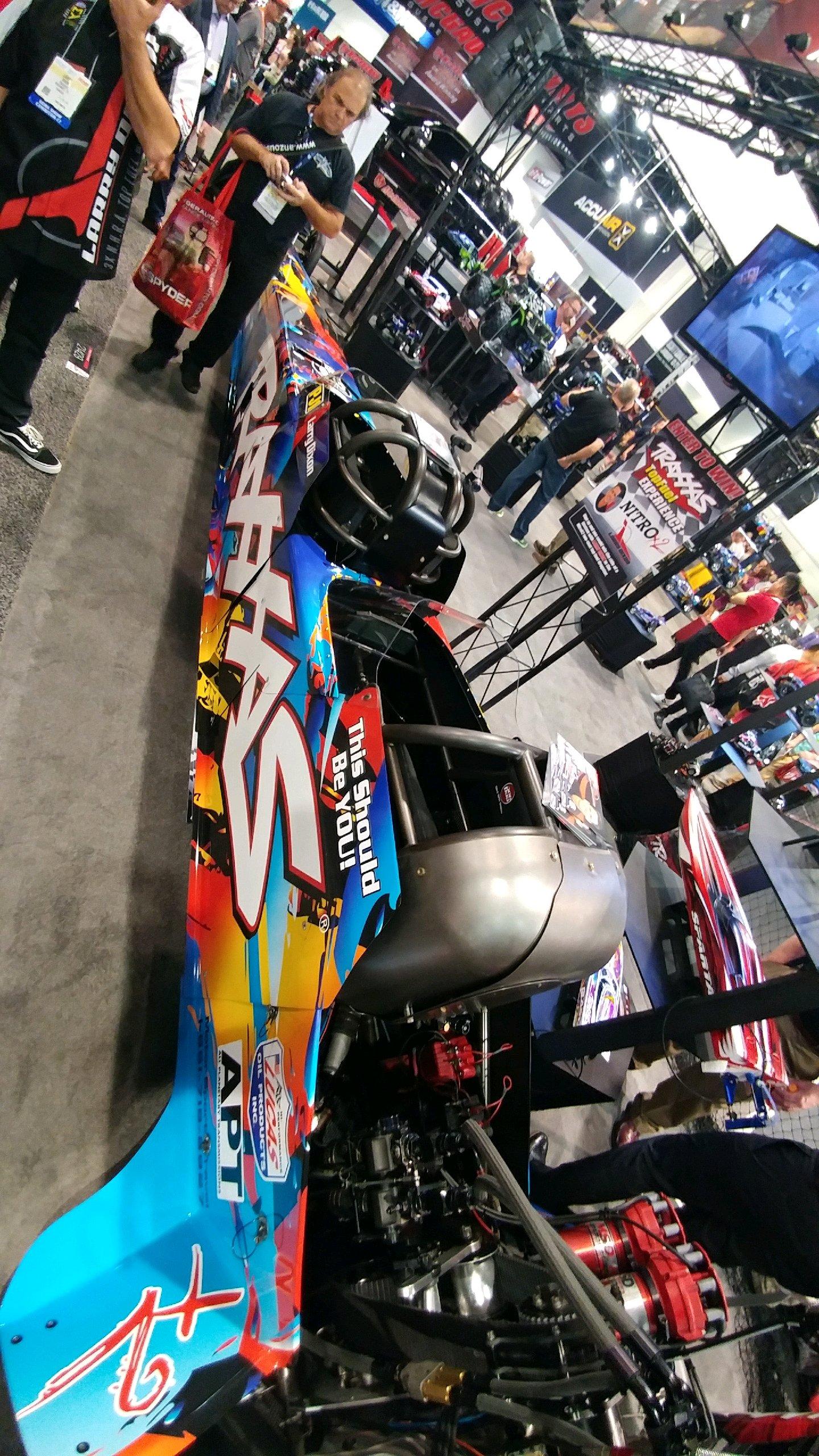 DIXON REVEALS TWO SEAT TOP FUEL DRAGSTER WITH VIDEO