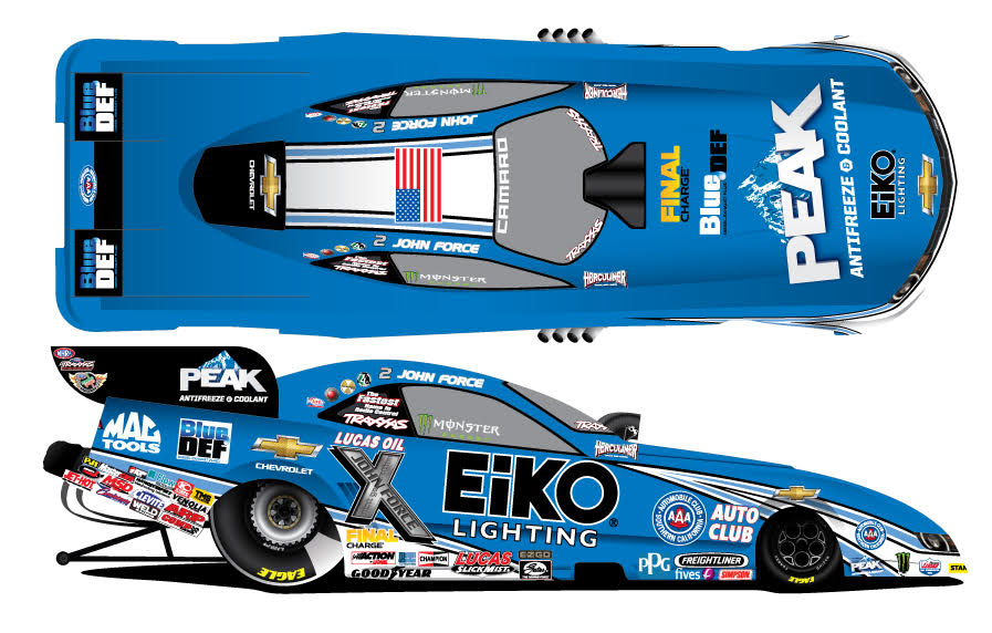 John Force Racing Car Manufacturer