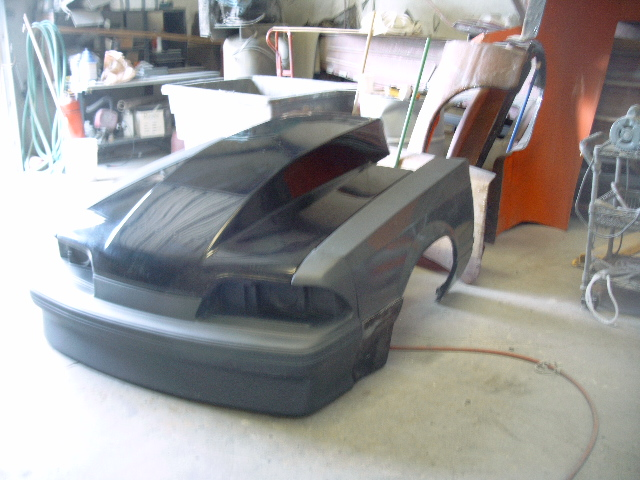 CFM'S ONE-PIECE FOX BODY MUSTANG FRONT END | Competition Plus