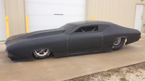 Andy Mccoy Unveils New Pm Ts 69 Chevelle Body