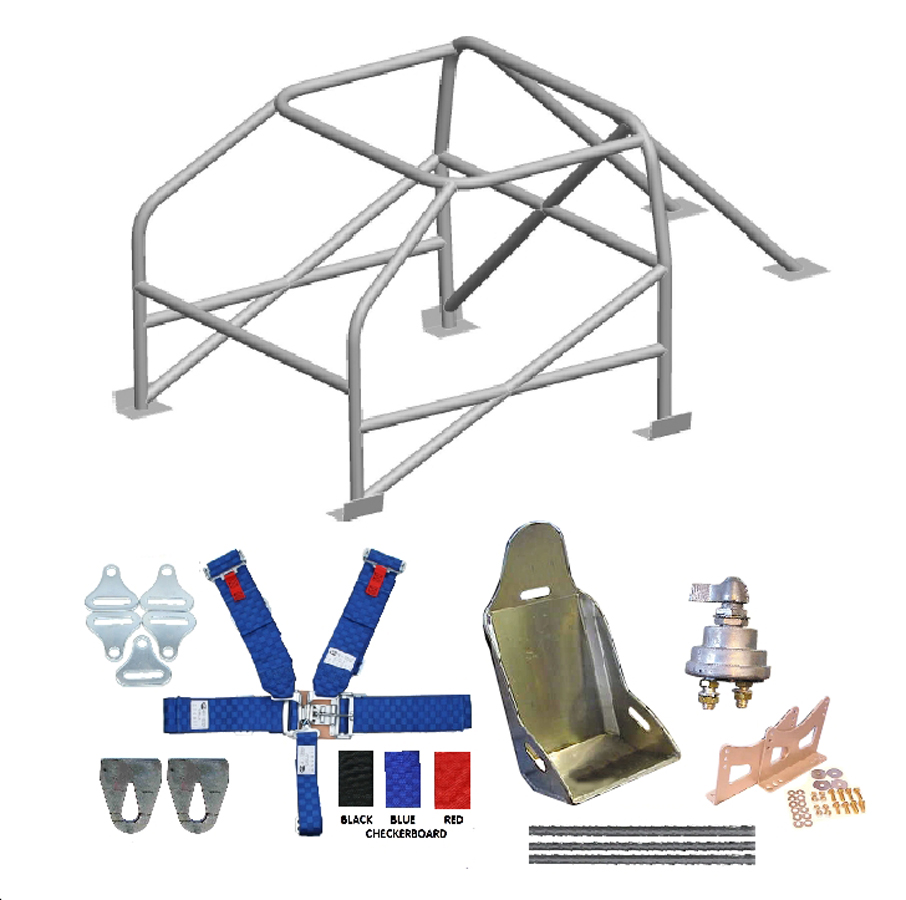 LeMONS ROLL CAGE COMBO KIT FROM S&W RACE CARS