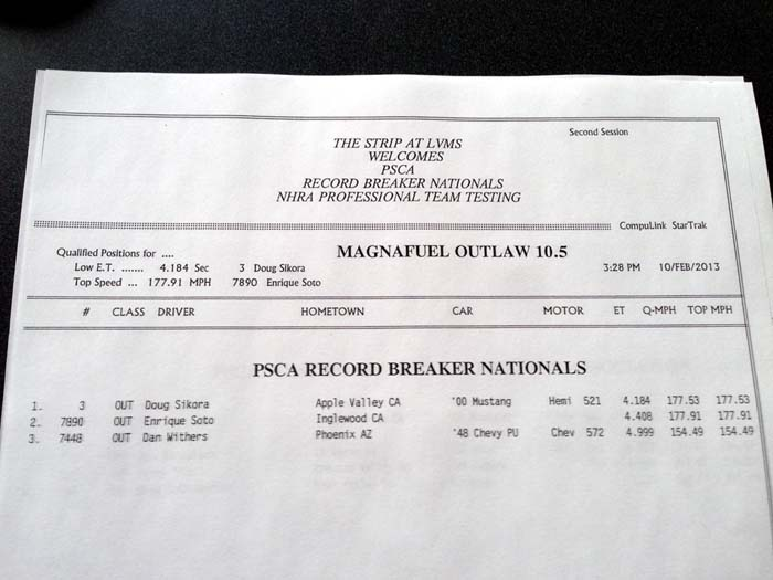 PSCA Outlaw 10.5 Q2