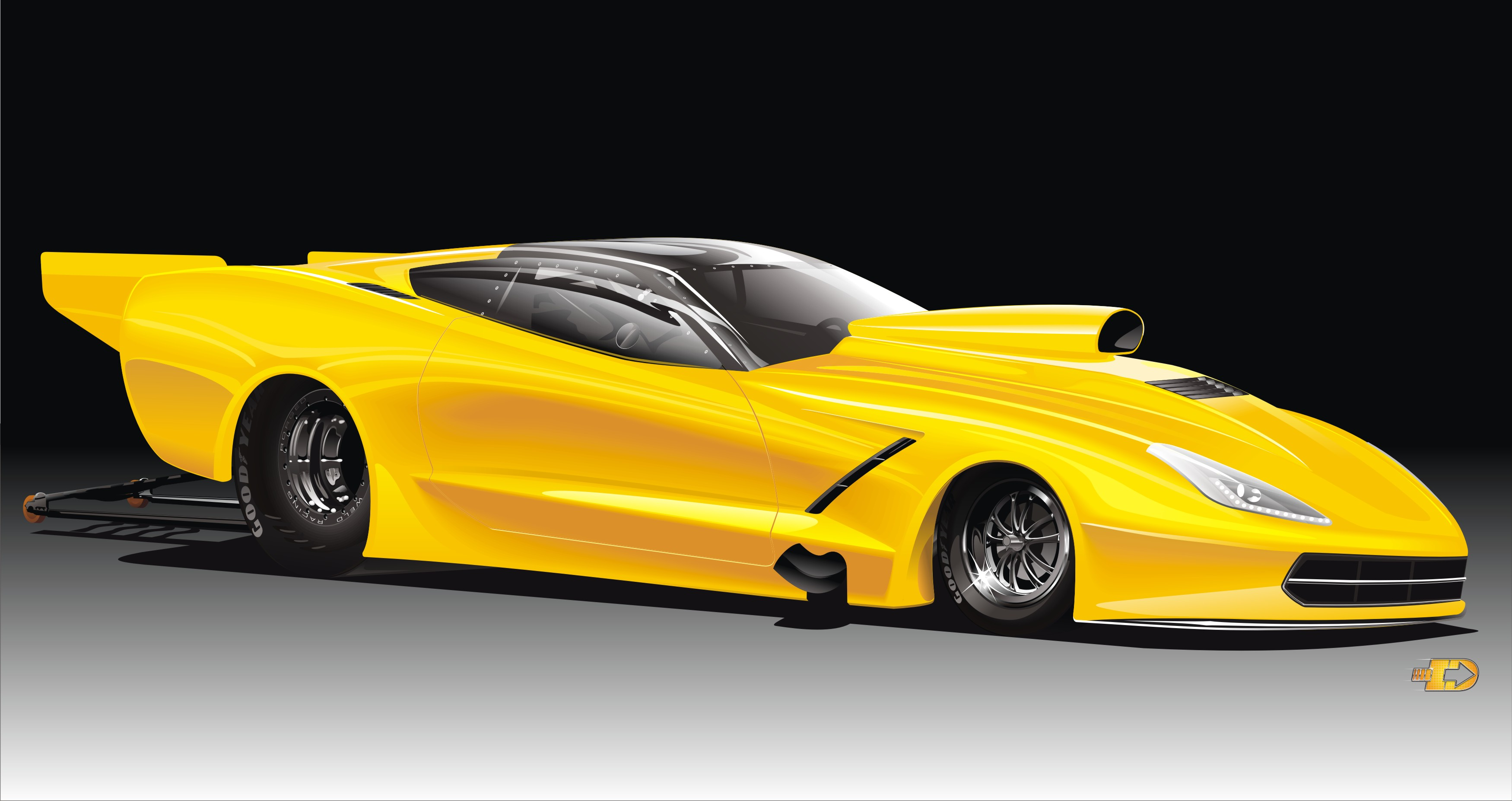 New Corvette From Jerry Bickel Race Cars Competition Plus