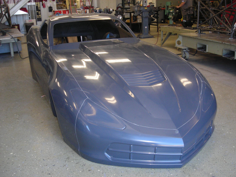 New Corvette C Bodies Arrive At Jerry Bickel Shop Competition