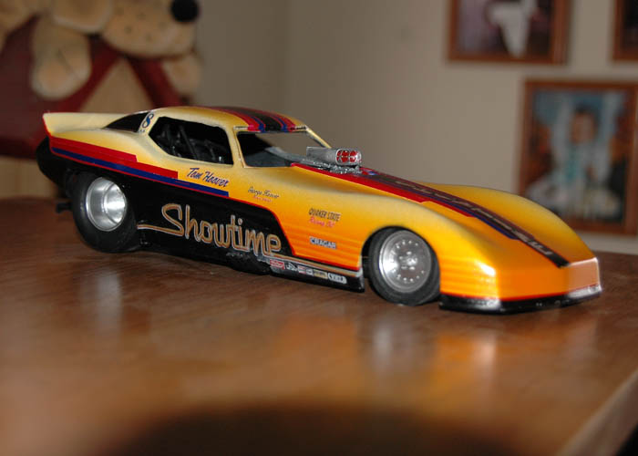 MODEL CARS FUEL GARLAND'S DRAG RACING PASSION | Competition Plus