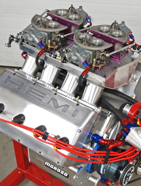 Sonny's Racing/Bear Performance Release 811 cid Mountain Motor ...
