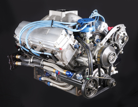 Want to drag race with a used nascar engine competition for What motor does nascar use